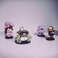 figurki 3D